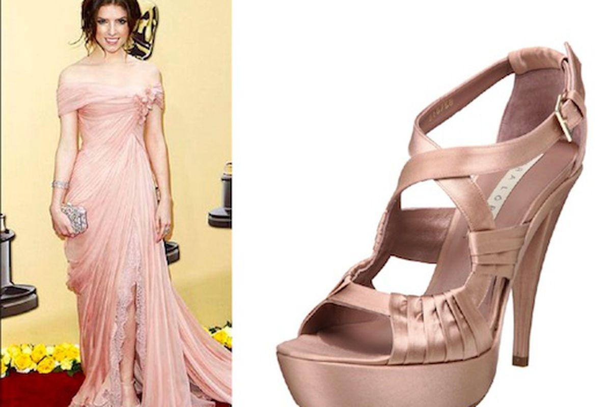 "Get Anna Kendrick's shoe look with these <a href=""http://www.endless.com/Pura-Lopez-Womens-S256A-Platform/dp/B002ECF9RQ/"">Pura Lopez</a> sandals, $370"