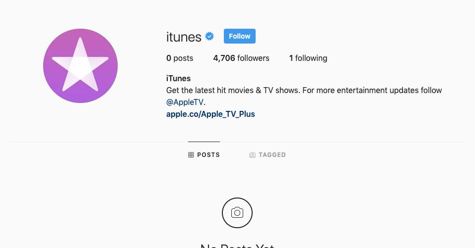 Apple ได้ล้างหน้า Facebook และ Instagram สำหรับ iTunes แล้ว thumbnail