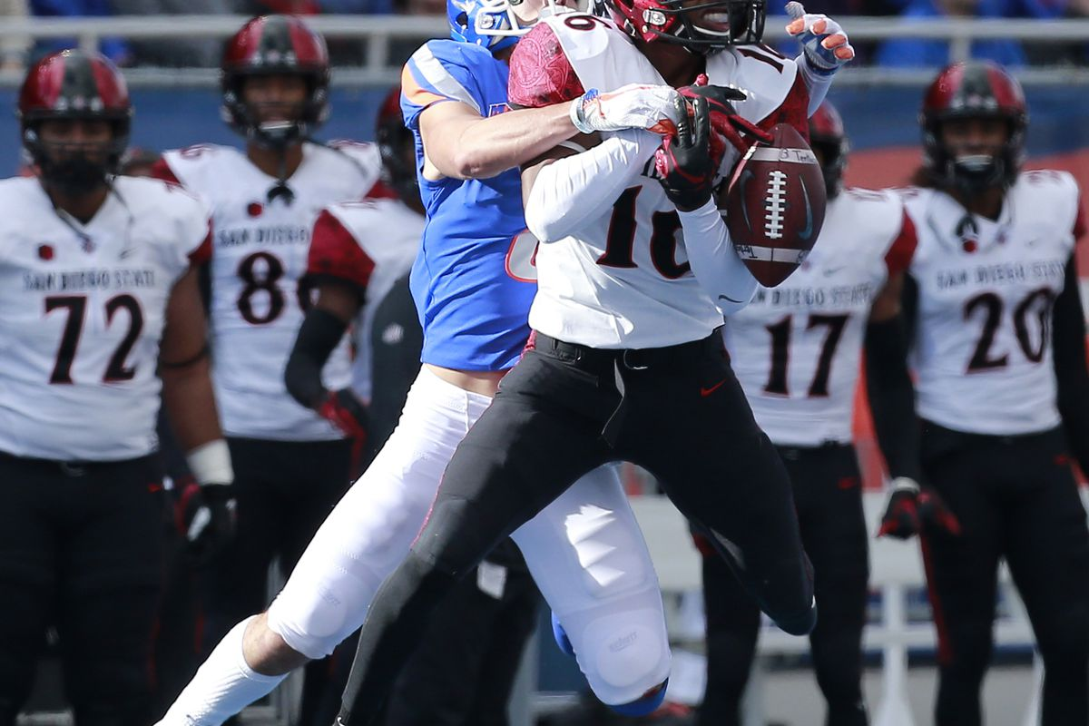 NCAA Football: San Diego State at Boise State
