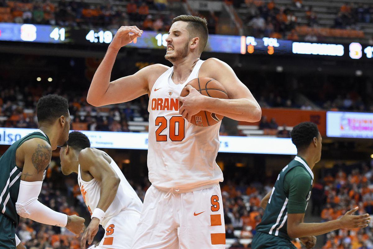 Syracuse Basketball Tyler Lydon Leaves Game With Achilles Injury