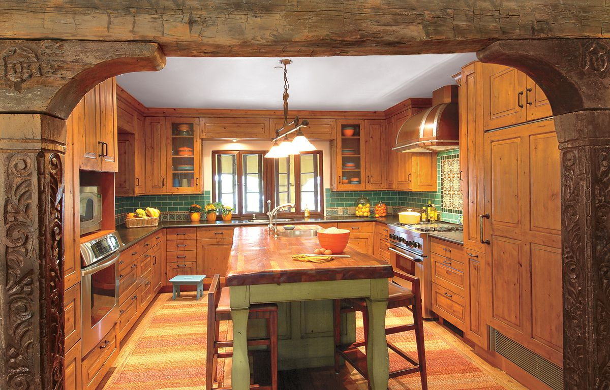 Our Favorite Green Kitchens