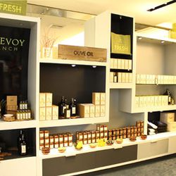 """No need to worry about checking these liquids by buying the <a href=""""http://mcevoyranch.com/"""">McEvoy Ranch</a> olive oils and the lotions in the terminal (and past security)."""