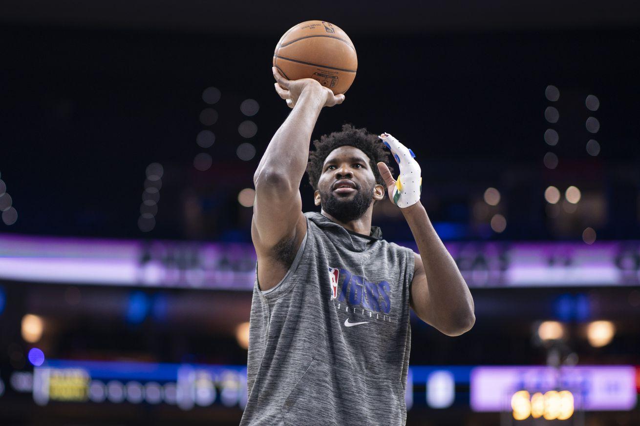 Joel Embiid increases basketball activity, Sixers recall Zhaire Smith