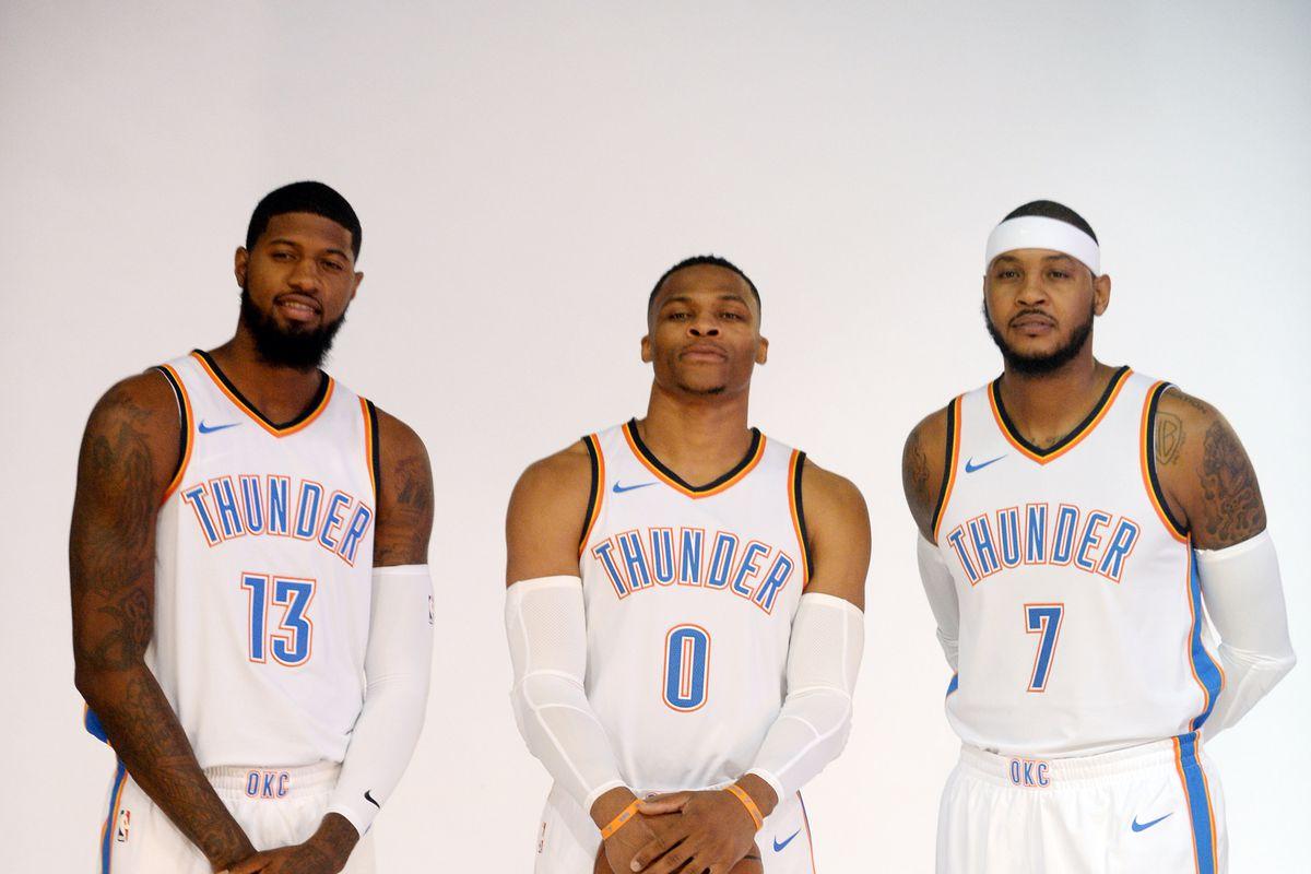 NBA: Oklahoma City Thunder-Media Day