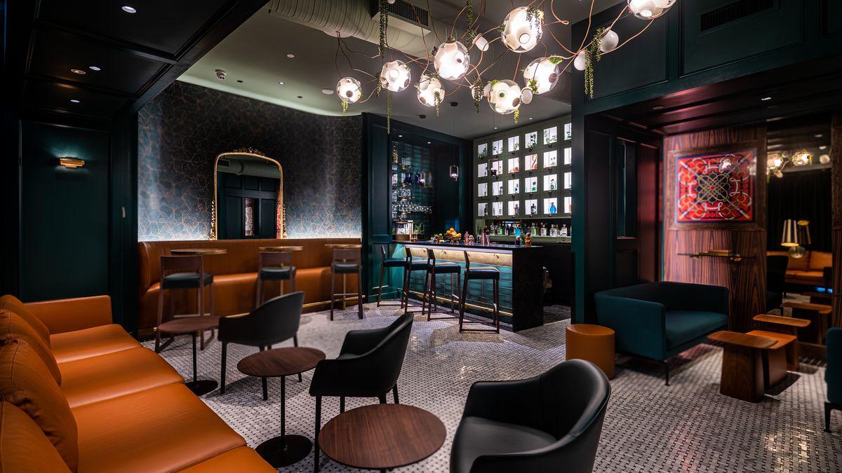The Wells gin bar
