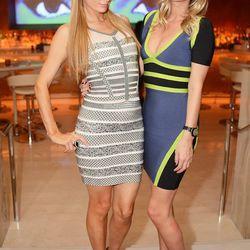 Paris Hilton and Nicky Hilton at Andrea's. Photo: Aaron Garcia