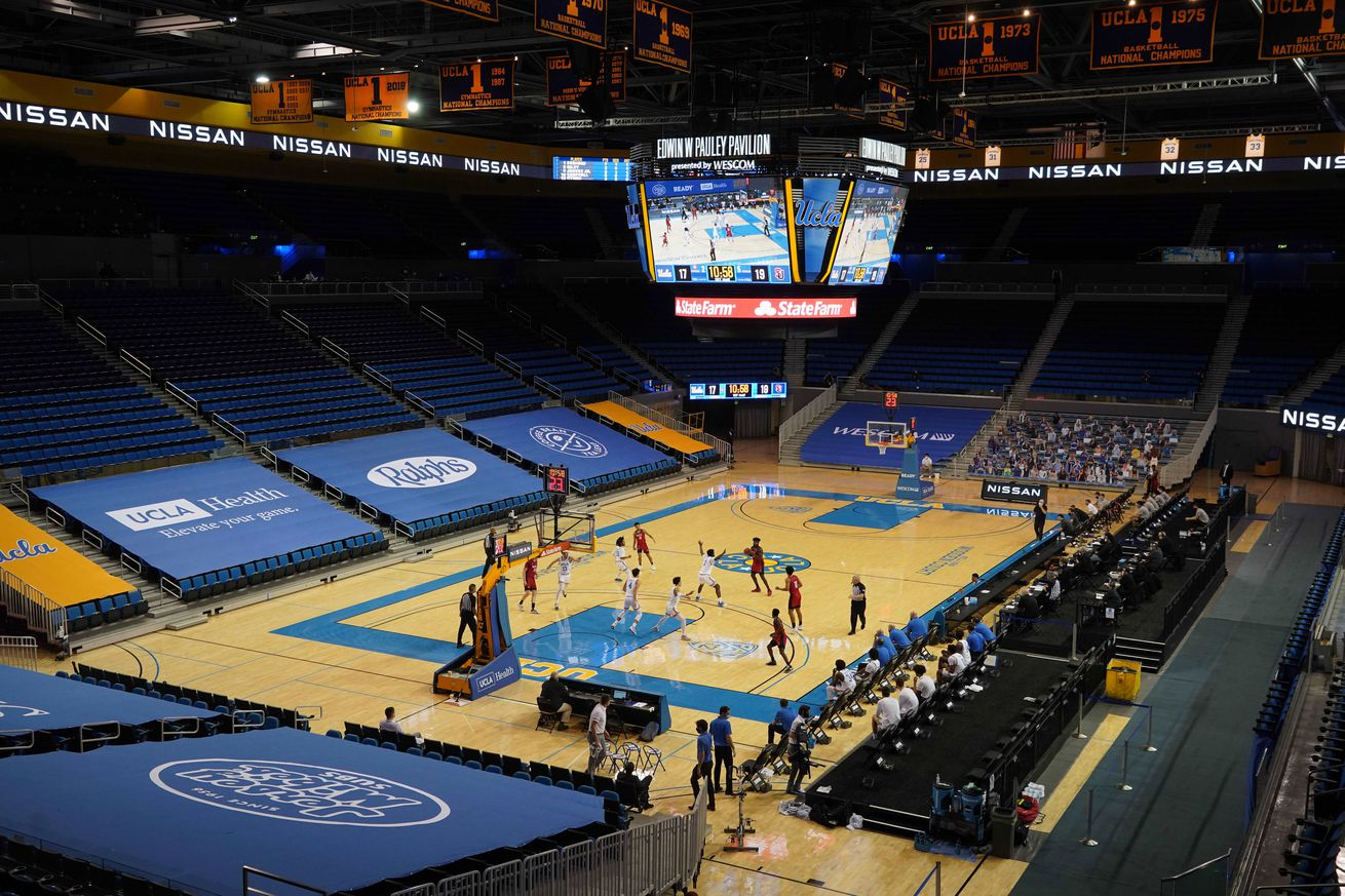NCAA Basketball: Seattle at UCLA