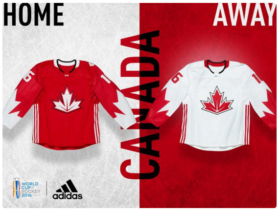 Canada world cup of hockey jersey