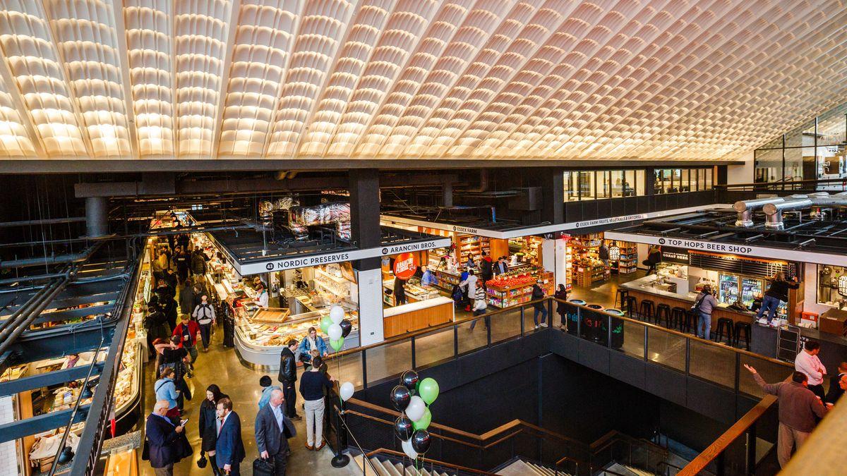 Inside Essex Market's Sprawling, Stunning New Lower East