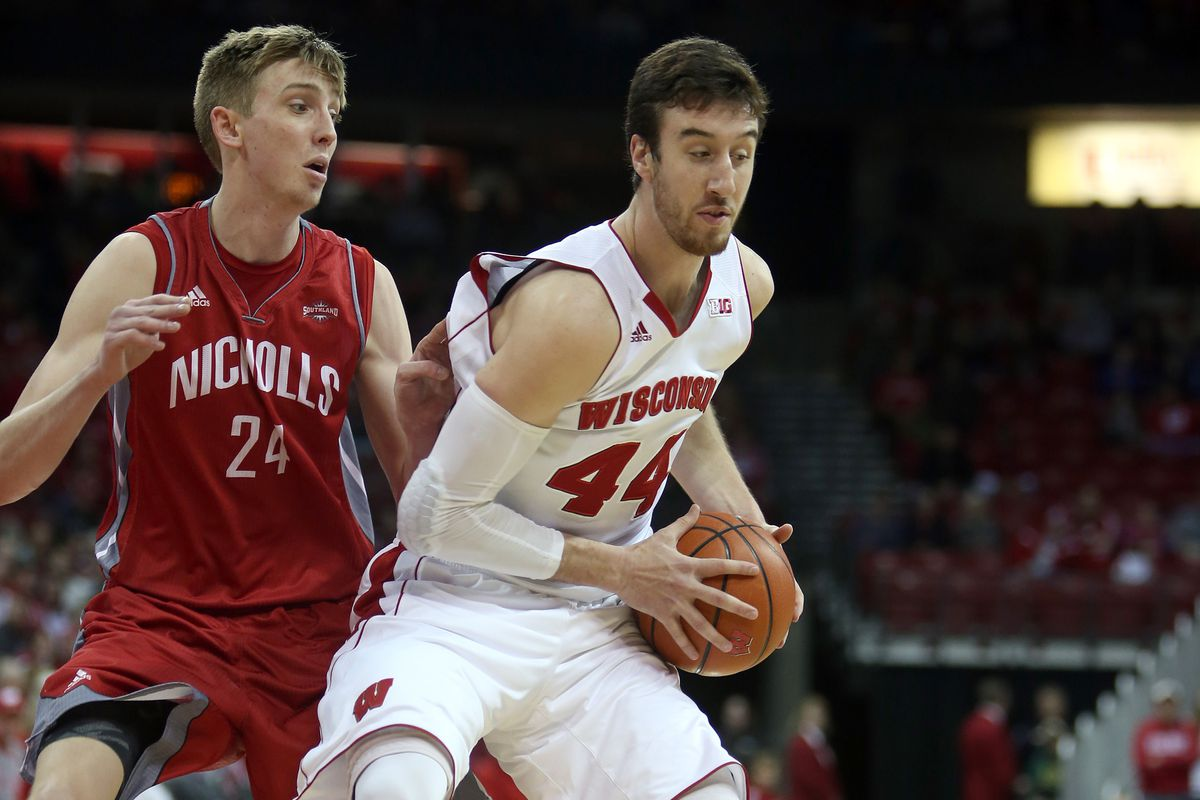 Frank Kaminsky (44)  has only improved since his standout junior season