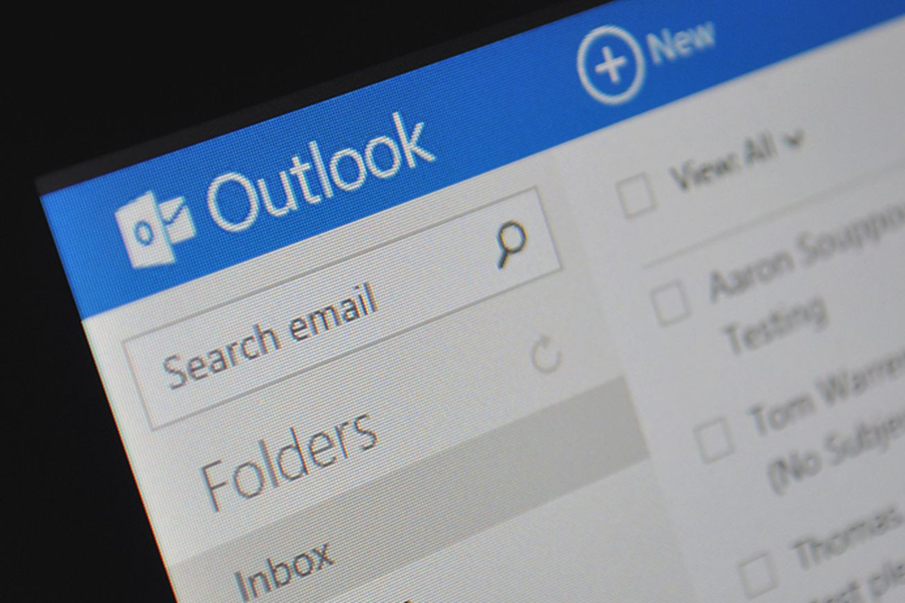 Microsoft's Outlook web email service
