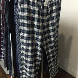 Pajama pants, $20