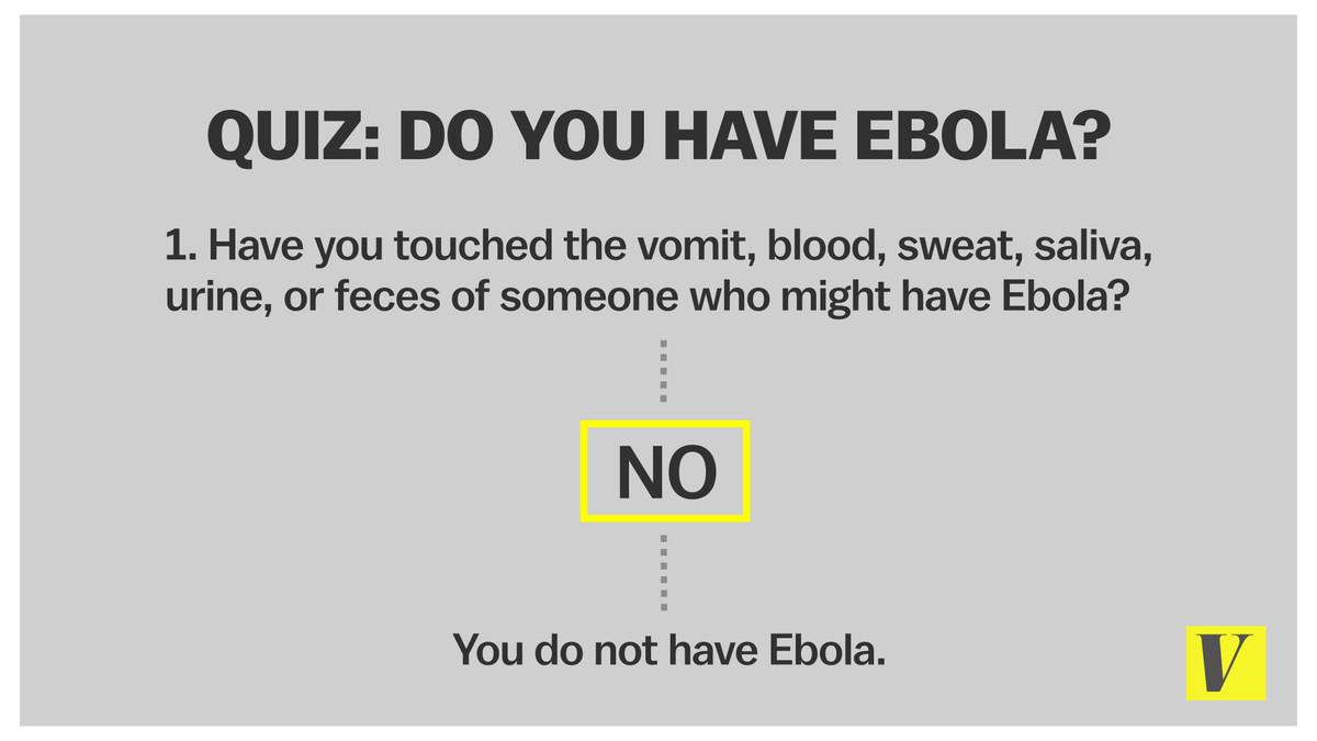 Ebola flowchart