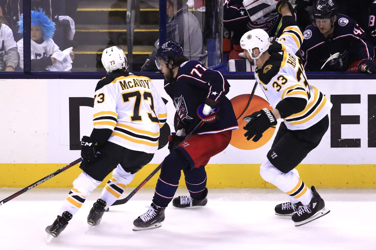 official photos 47bcd 96c8a The Charlie McAvoy hit on Josh Anderson was called correctly ...