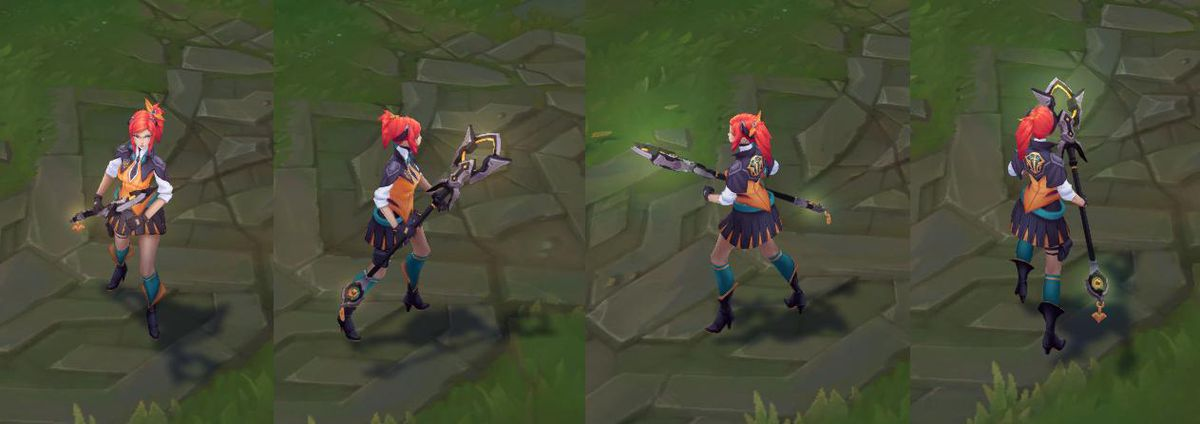 Lux ezreal dating