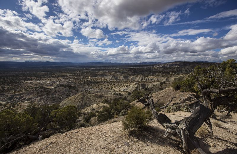The moon-like Grand Staircase Escalante National Monument