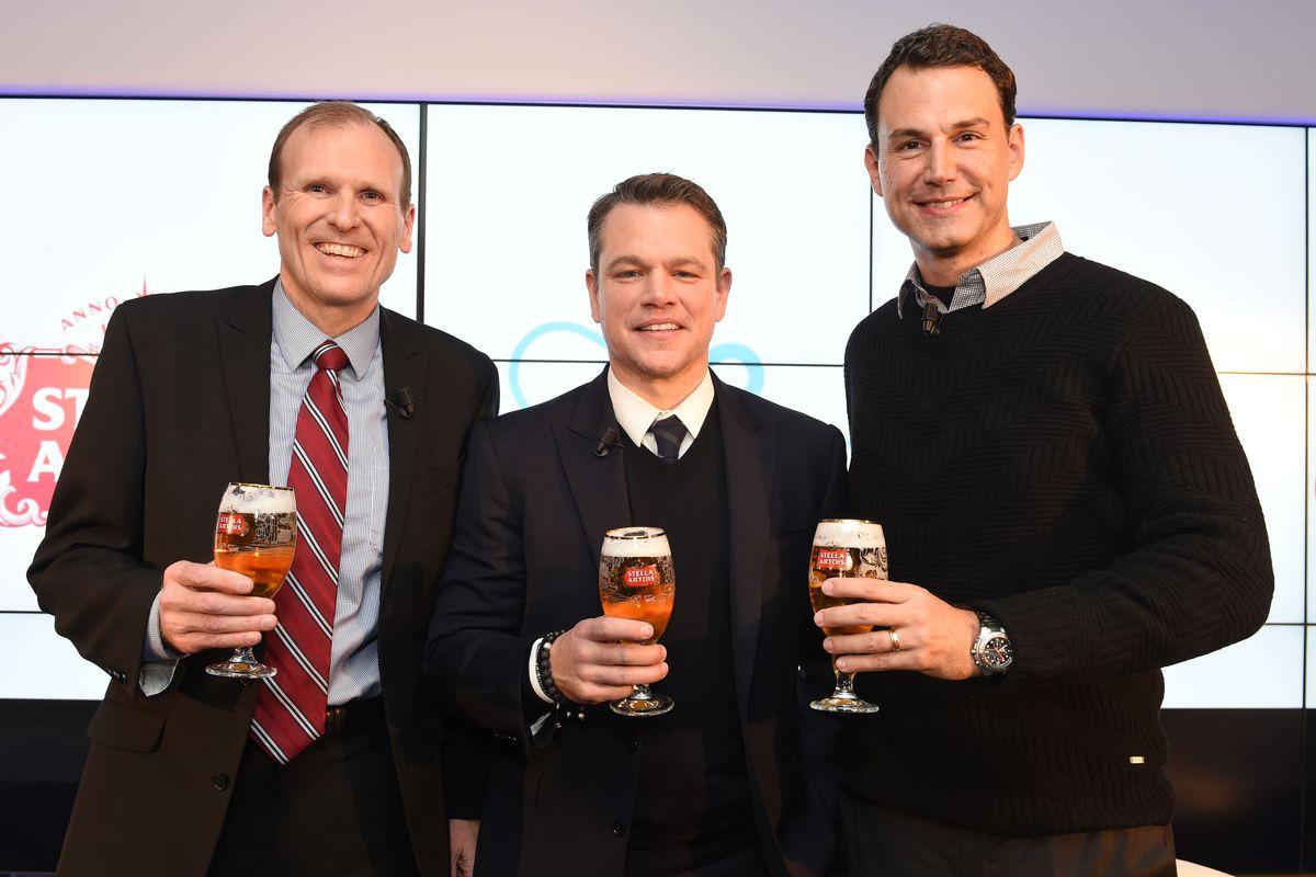 Matt Damon, Gary White, Stella Artois and Water.org Host Panel Discussion at World Economic Forum