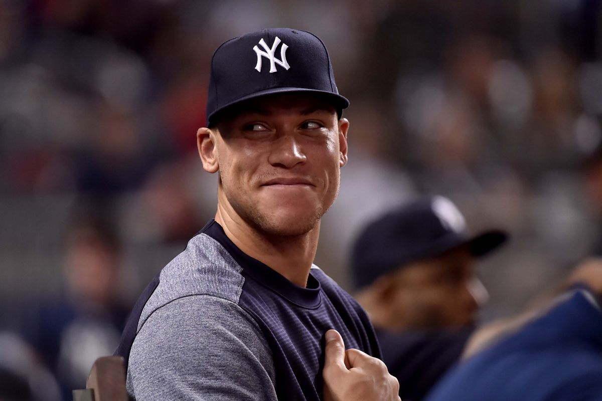 Aaron Judge still feels pain in his broken wrist as he continues his rehab.