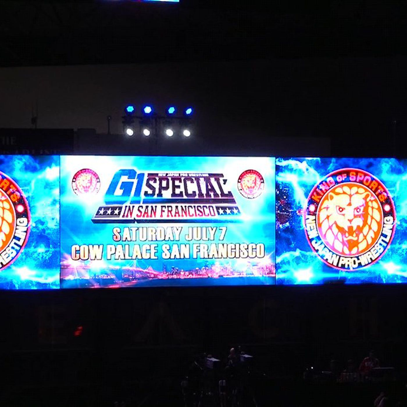 Image result for NJPW U.S. G1 Special San Francisco July 7