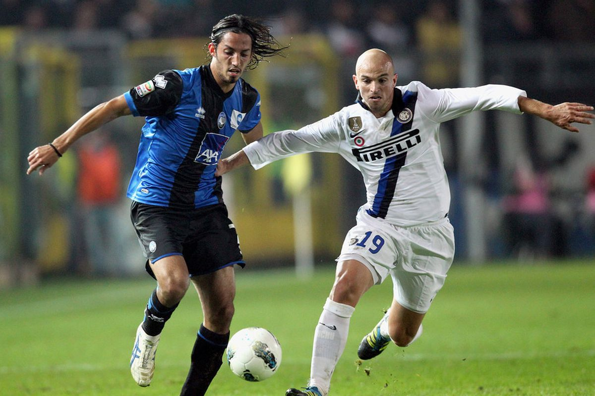 Cambiasso v Schelotto last season. Look for much of the same tomorrow.