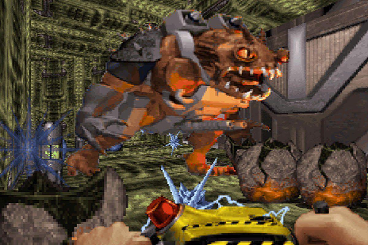 A monster in Duke Nukem 3D