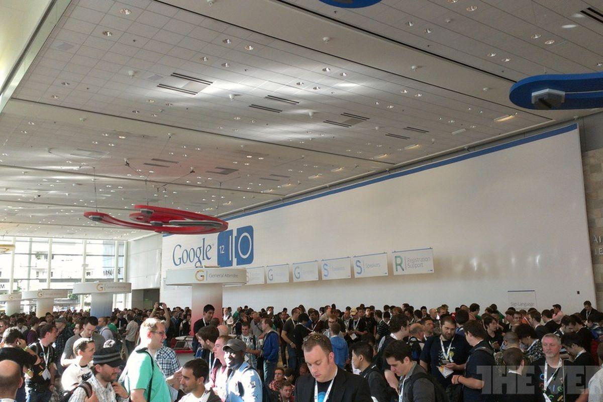 Google I/O stock