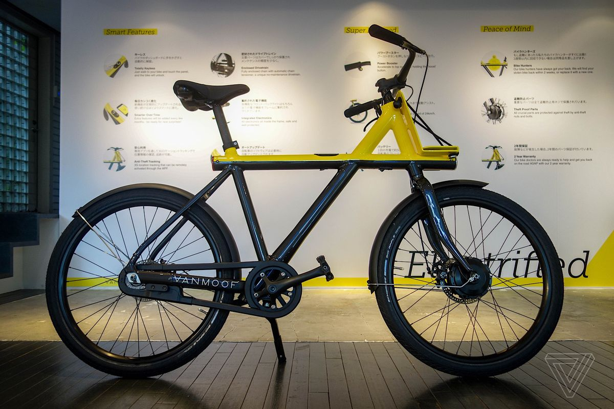 VanMoof's latest electric bike takes on hellish Tokyo commutes - The