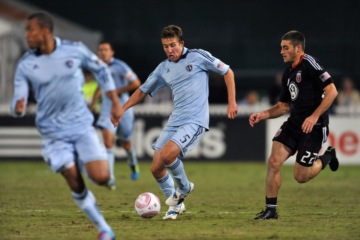 Chris Korb assisted on United's lone goal