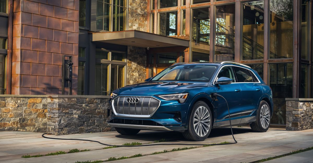 Audi Drops E Tron Price By Nearly 9 000 And Ups The Range By 18 Miles The Verge