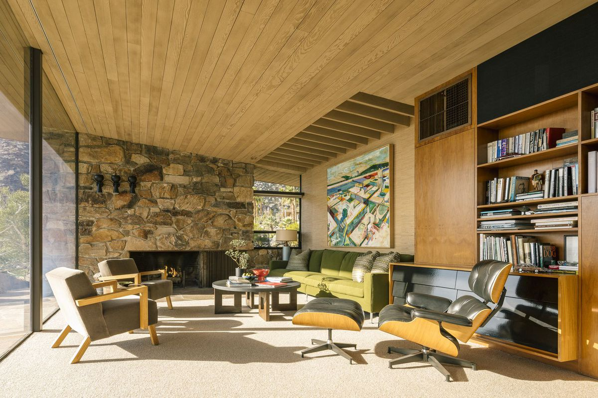 Palm Springs S Midcentury Edris House On The Market For 3
