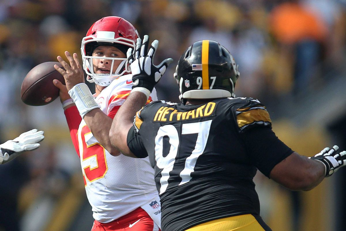 Image result for pat mahomes chiefs steelers