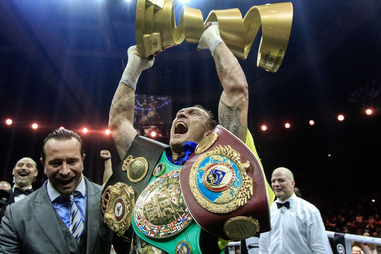 usyk.0 - Usyk officially vacates WBA cruiserweight belt