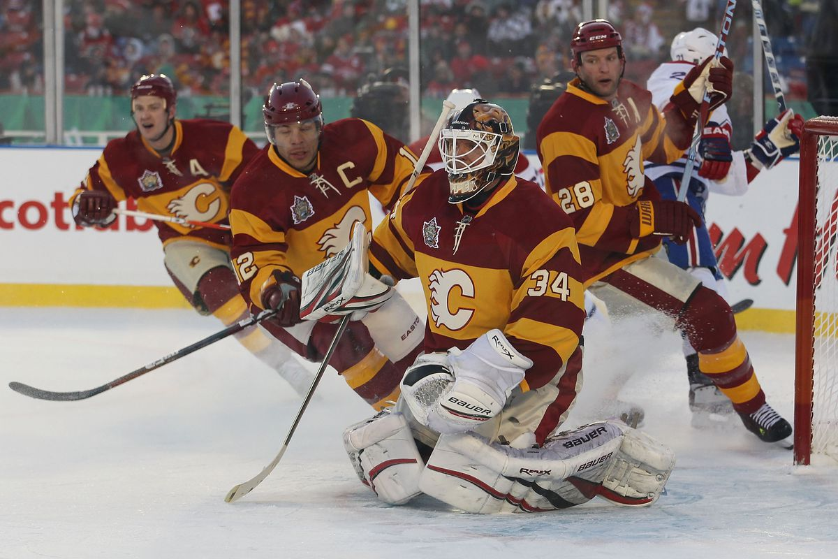 The Next Heritage Classic Should Be Calgary Flames Edmonton Oilers Matchsticks And Gasoline