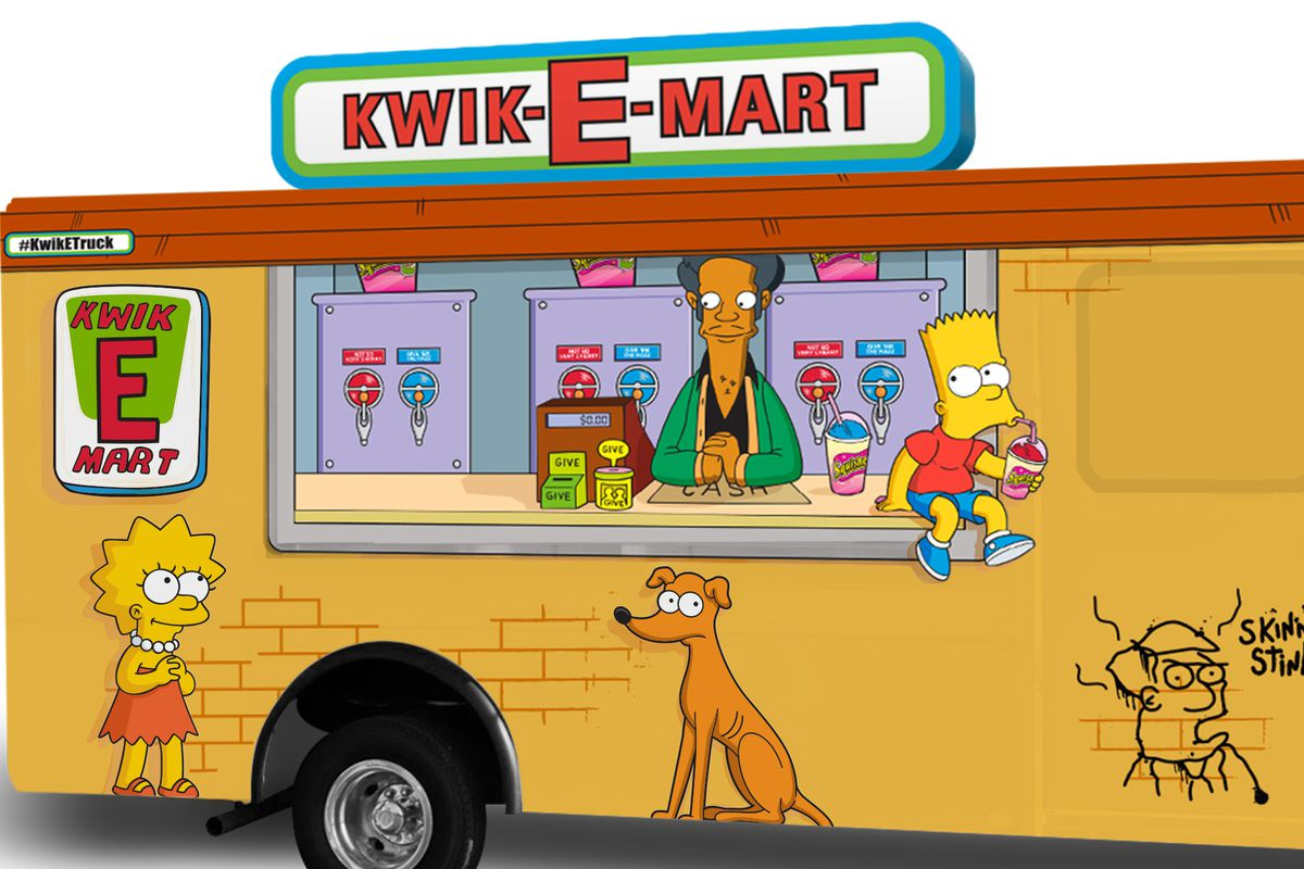 'Simpsons' Kwik-E-Mart Truck Will Sling Squishees at SXSW ...