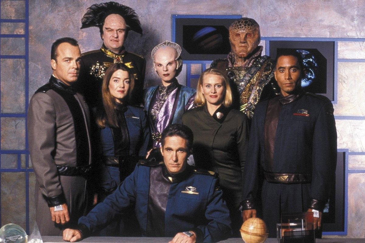 The beloved Babylon 5 is getting rebooted, with series creator JMS running the show - The Verge