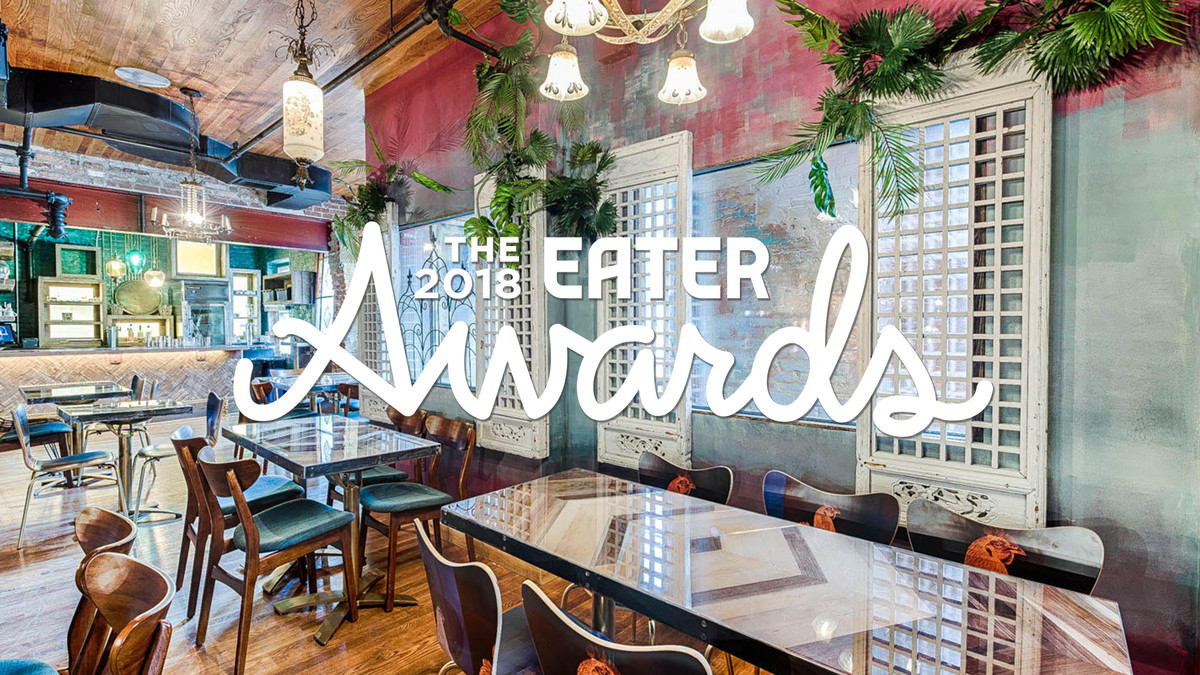 D C S 2018 Eater Award Winners The Best Chef Restaurant