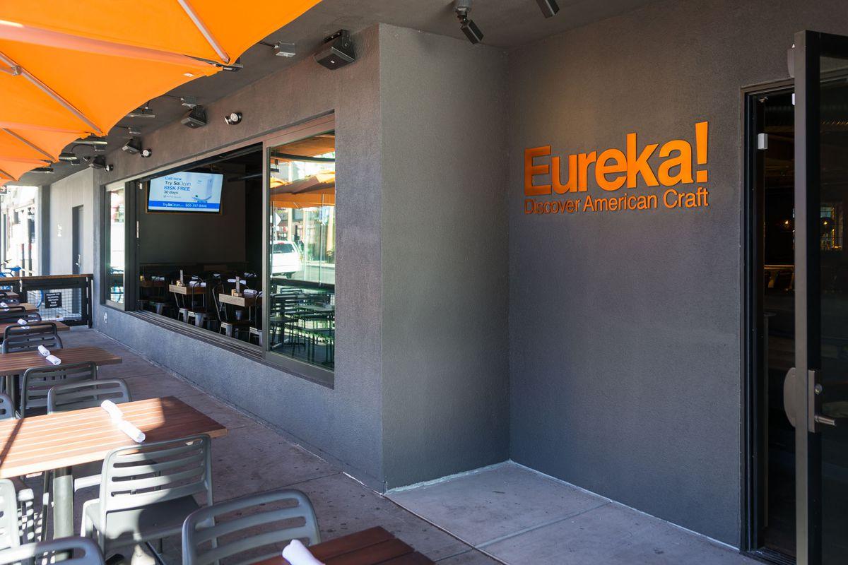 The patio at Eureka!