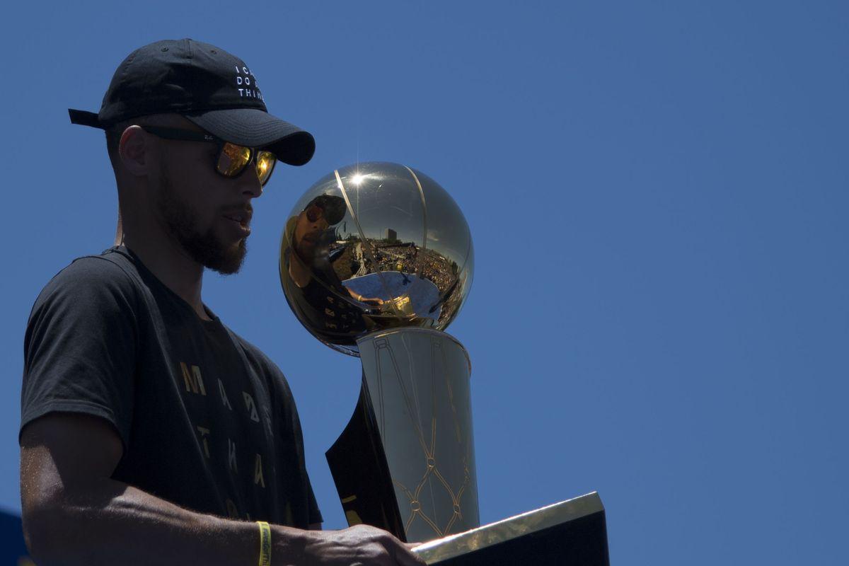 NBA: Golden State Warriors-Championship Celebration