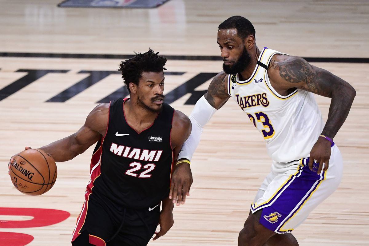 Lakers vs. Heat Game 3 recap: Jimmy Butler posts XX-XX-XX triple-double in  win to make series 2-1 - DraftKings Nation