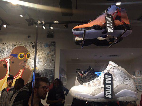 Inside Nike's new Michael Jordan store  Tina Sfondeles / Sun-Times.