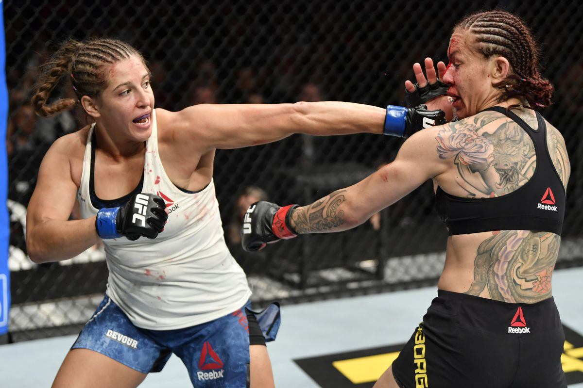 UFC Fight Night 169 card: Felicia Spencer vs Zarah Fairn dos ...