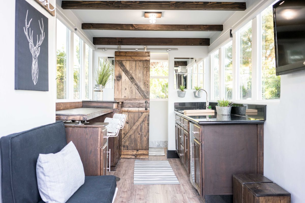 Light-filled shipping container house cost just $36K to build - Curbed