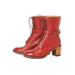 """Samantha Pleet Blixen: originally $330, now $214.50. """"Beautifully-made lace up booties for dresses!"""""""