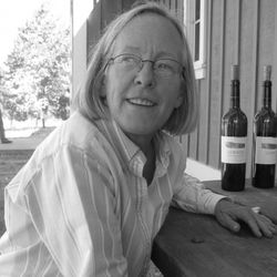 """Napa Valley's Cathy Corison of Corison Winery. One of the great producers of classic California Cabernet and a constant reminder of the potential of the Valley. [Source: <a href=""""http://wannabewino.com/"""" rel=""""nofollow"""">Wannabe Wino</a>]"""