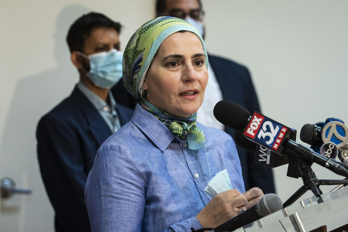 Suzanne Akhras Sahloul, founder and executive director of the Syrian Community Network.