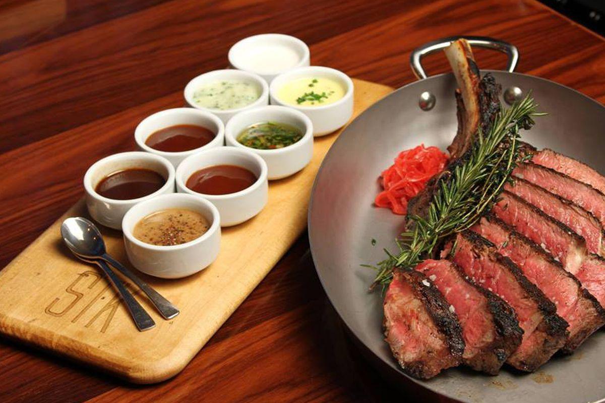 Steak from STK