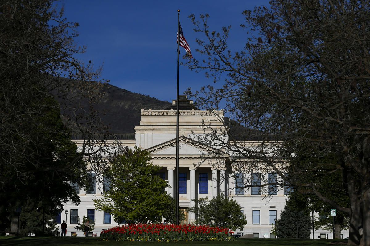 FILE - The office of the University of Utah president in Salt Lake City on Wednesday, May 3, 2017.The University of Utah on Wednesday announced the launch of a research center on campus that will study the effects of a psychological wellness concept calle