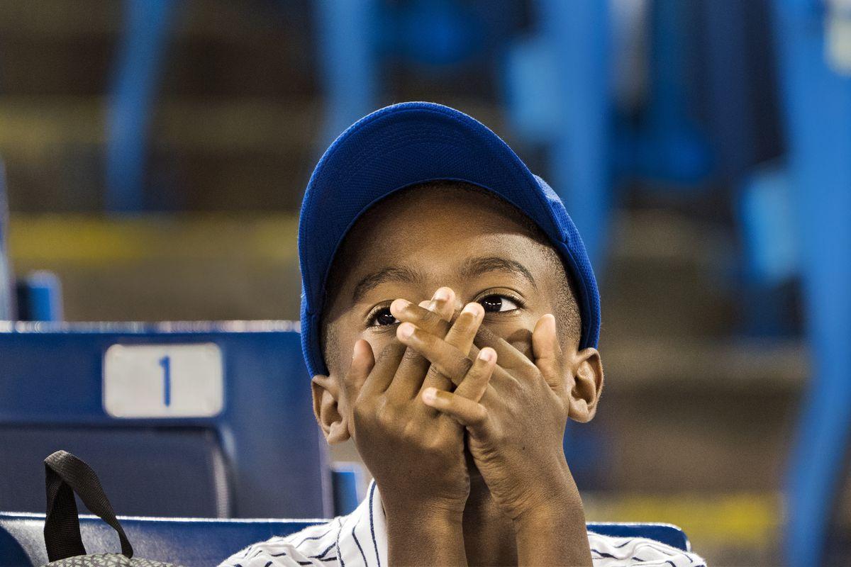 MLB: JUN 30 Tigers at Blue Jays