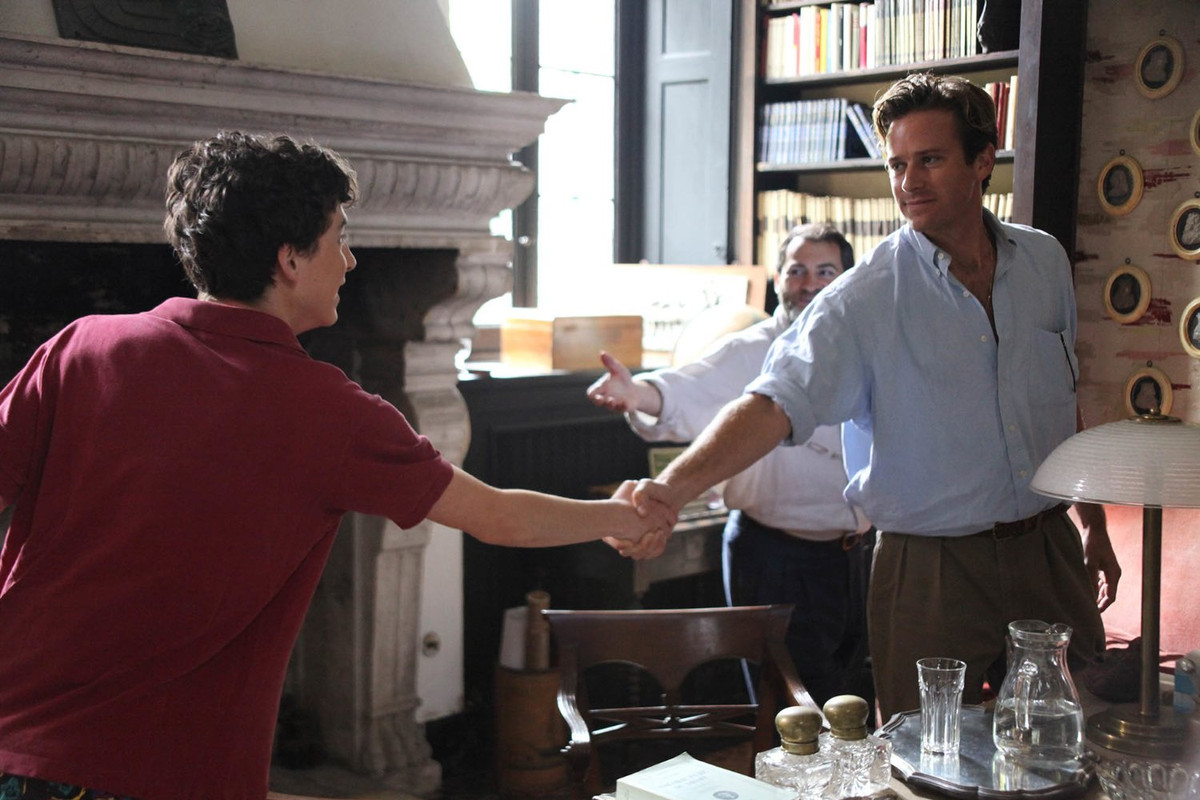 'Call Me by Your Name' (Sony Pictures Classics)
