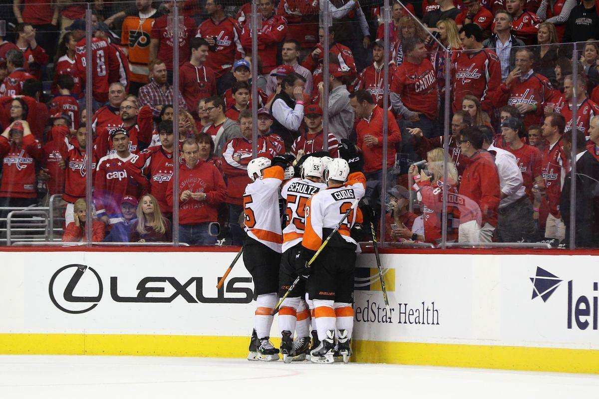 Philadelphia Flyers v Washington Capitals - Game Five